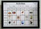 A1 Activity Board with Frame & 30 Cards