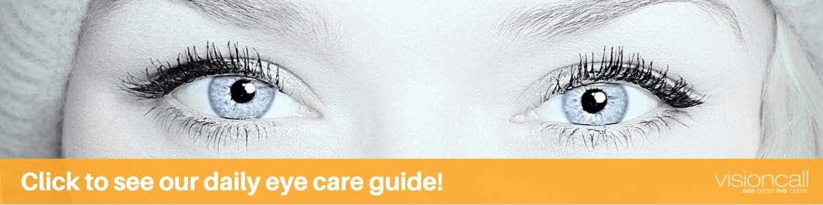 Visioncall Daily Eye Care Guide