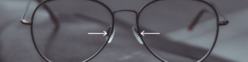 If glasses are sitting too low